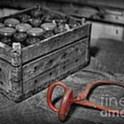 The Farmer's Milk Crate  Art Print by Lee Dos Santos