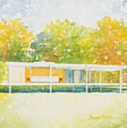 The Farnsworth House Art Print