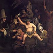 The Feast Of Bacchus, 1654 Art Print