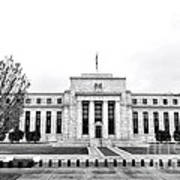 The Federal Reserve  Art Print by Olivier Le Queinec
