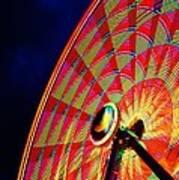 The Ferris Wheel 7/10/14 Art Print