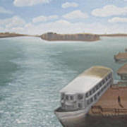 The Ferryman's Break Art Print