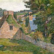 The Field Of Derout-lollichon Art Print
