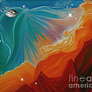 The Final Frontier Art Print by Barbara McMahon