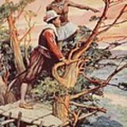 The First Englishman To See The Pacific Art Print