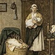 The Firstborn, 1875 Art Print