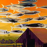 The Fish Farm 5d24404 Long Art Print