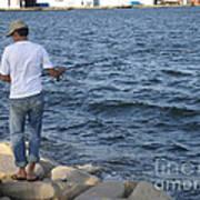Tunisian Fisherman 3 Art Print