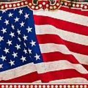 The Flag Art Print by Martin Bergsma