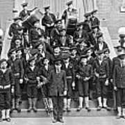 The Flatbush Boys' Club Band Art Print
