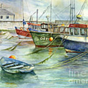 The Fleet Is In At Dingle Art Print