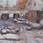 The Flour Mill Art Print