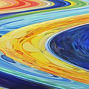 The Flow Art Print