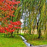 The Flow Of Autumn Art Print