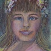 The Flower Girl Art Print