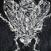 The Fly - Oil Portrait Art Print