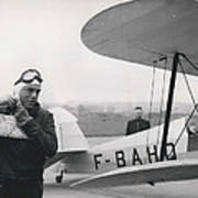 The Flying Ambassador Art Print