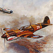 The Flying Tigers Art Print