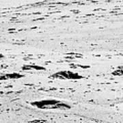 The Footprints At Wineglass Art Print