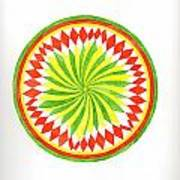 The Forest Mandala Art Print