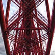 The Forth Bridge Up Close And Personal Art Print