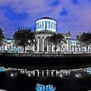 The Four Courts 5 - Dublin Ireland Art Print