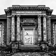 The Free Library Of Philadelphia - Manayunk Branch Art Print