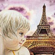 The French Girl Art Print