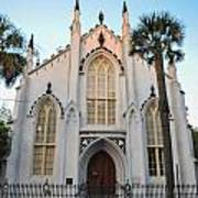 Charleston French Huguenot Church Art Print