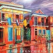 The Frenchmen Hotel New Orleans Art Print