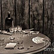 The Gambling Table Art Print