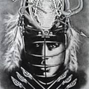 The Game Of Lacrosse  Art Print