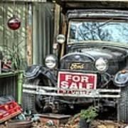 The Garage Sale Art Print by JC Findley