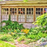 The Garden At Juniata Crossings Art Print