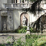 The Garden At The Pope's Private Residence Art Print