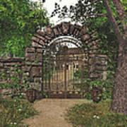The Garden Gate Art Print