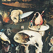 The Garden Of Earthly Delights Hell, Right Wing Of Triptych, C.1500 Oil On Panel See 322, 3425 Art Print