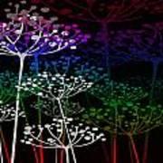 The Garden Of Your Mind Rainbow 2 Art Print