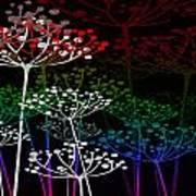 The Garden Of Your Mind Rainbow 3 Art Print