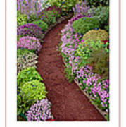 The Garden Poster Art Print