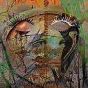 The Gardian In Roots  Art Print