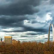 The Gateway Arch Downtown St. Louis Art Print