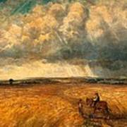 The Gathering Storm, 1819 Art Print by John Constable