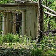 The Gazebo In The Woods Art Print
