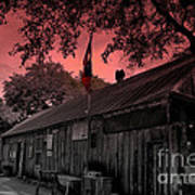 The General Store In Luckenbach Texas Art Print by Susanne Van Hulst