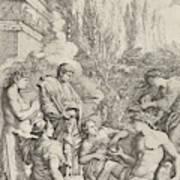 The Genius Of Salvator Rosa Art Print