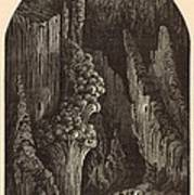 The Geyser 1872 Engraving Art Print by Antique Engravings