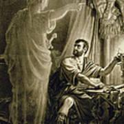 The Ghost Of Julius Caesar, In The Play Art Print