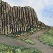 The Giant's Causeway Art Print