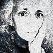 The Gingerbread Girl Art Print